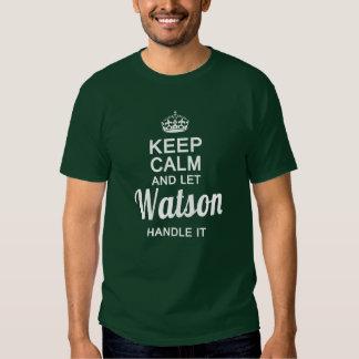 Watson handle it ! tshirts