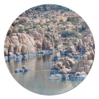 Watson Lake Custom Melamine Plate