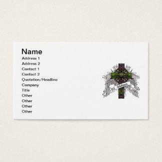 Watson Tartan Cross Business Card