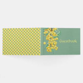 Wattle blossoms Australian Guestbook