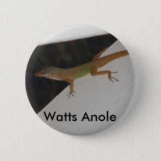 Watts Anole Reptile Button