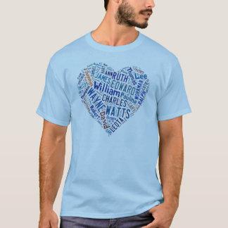 Watts Family T-shirt Blue
