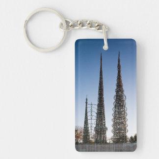 Watts Towers Los Angeles Keychain