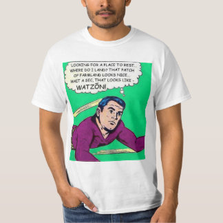 Watzón Comix Superhero T-shirt