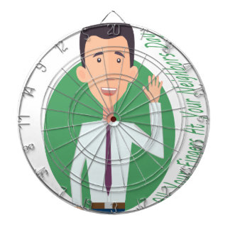 Wave All Your Fingers At Your Neighbors Day Dartboard