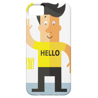 Wave All Your Fingers At Your Neighbors Day iPhone 5 Cover