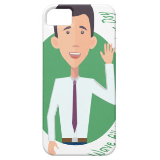 Wave All Your Fingers At Your Neighbors Day iPhone 5 Covers