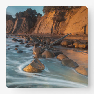 Wave along the beach, California Clocks