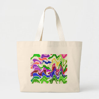 Wave Artistic Sensual TEMPLATE easy add TEXT IMAGE Bags