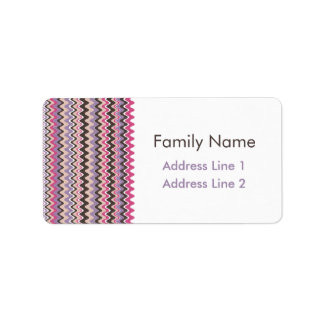 Wave Chevron Bold Label