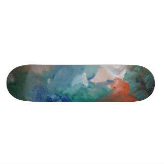 Wave Custom Skate Board