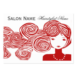 Wave Hair Fantasy Pack Of Chubby Business Cards