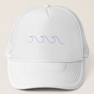 Wave hello trucker hat