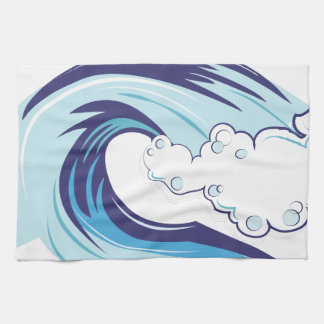 Wave Kitchen Towel