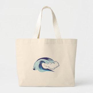 Wave Large Tote Bag