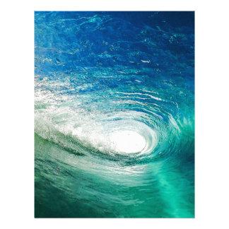 Wave Letterhead