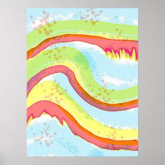 Wave Melt Poster