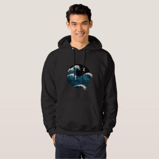 Wave night hoodie