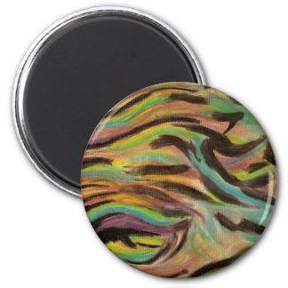 wave of colors magnet