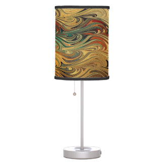 Wave Of Colors Table Lamp