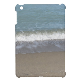 Wave of the sea on the sand beach cover for the iPad mini