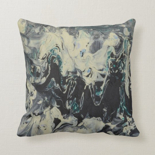 Wave of Water Throw Pillow