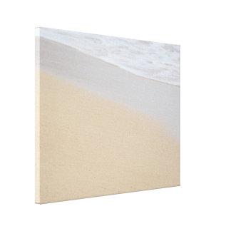 Wave on the Beach Canvas Print
