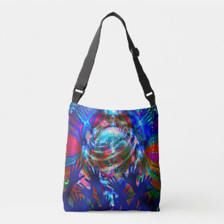 Wave or the Worlds Crossbody Bag