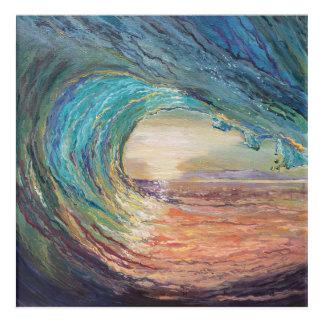 Wave Painting Acrylic Wall Art