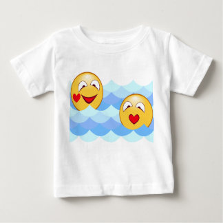 Wave smiley baby T-Shirt