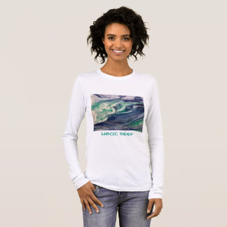 Wave Teeshirt Long Sleeve T-Shirt