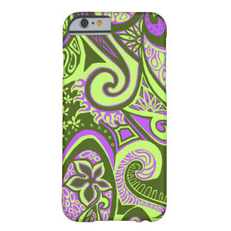 Wave Trip Vintage Psychedelic Floral Paisley Barely There iPhone 6 Case