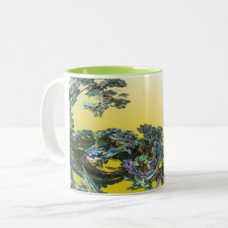 Wave Two-Tone Coffee Mug