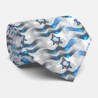Wave Your Israeli Flag Tie