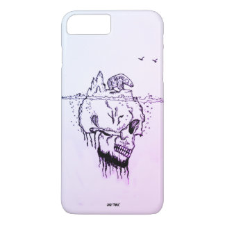 Wavelet @skull,@Just Think,Best companion iPhone 7 Plus Case