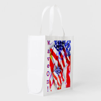 'WaveOn' Shopping Bag