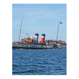 Waverly paddle steamer postcard