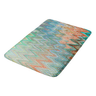 Waverly Peak Bath Mat by Artist C.L. Brown