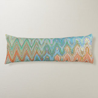 Waverly Peak Cotton Body Pillow by Artist CL Brown