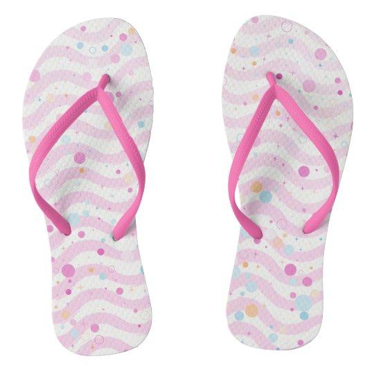 Waves2 - Pastel- Flip Flops