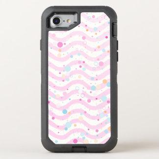 Waves2 - Pastel- OtterBox Defender iPhone 8/7 Case