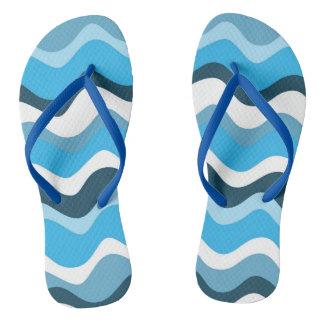 Waves 2 (blue) flip flops