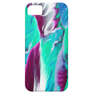 """""""Waves"""" Abstract Painting Case For The iPhone 5"""