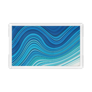 WAVES ACRYLIC TRAY