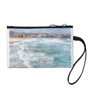 Waves at Bondi beach Coin Wallet