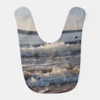 Waves At The Beach Bib