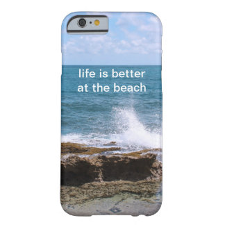 Waves at the Beach iPhone 6 case Barely There iPhone 6 Case