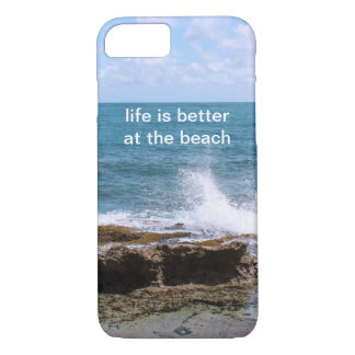 Waves at the Beach iPhone 7 case
