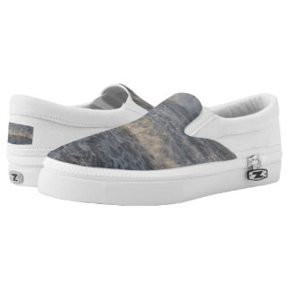 Waves Custom Zipz Slip On Shoes,  Men & Women