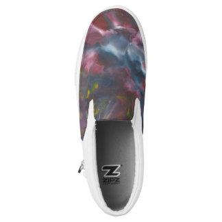 """""""waves"""" design slip on shoes"""